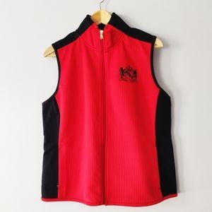 Lauren Active Ralph Lauren Red and Black Vest XL